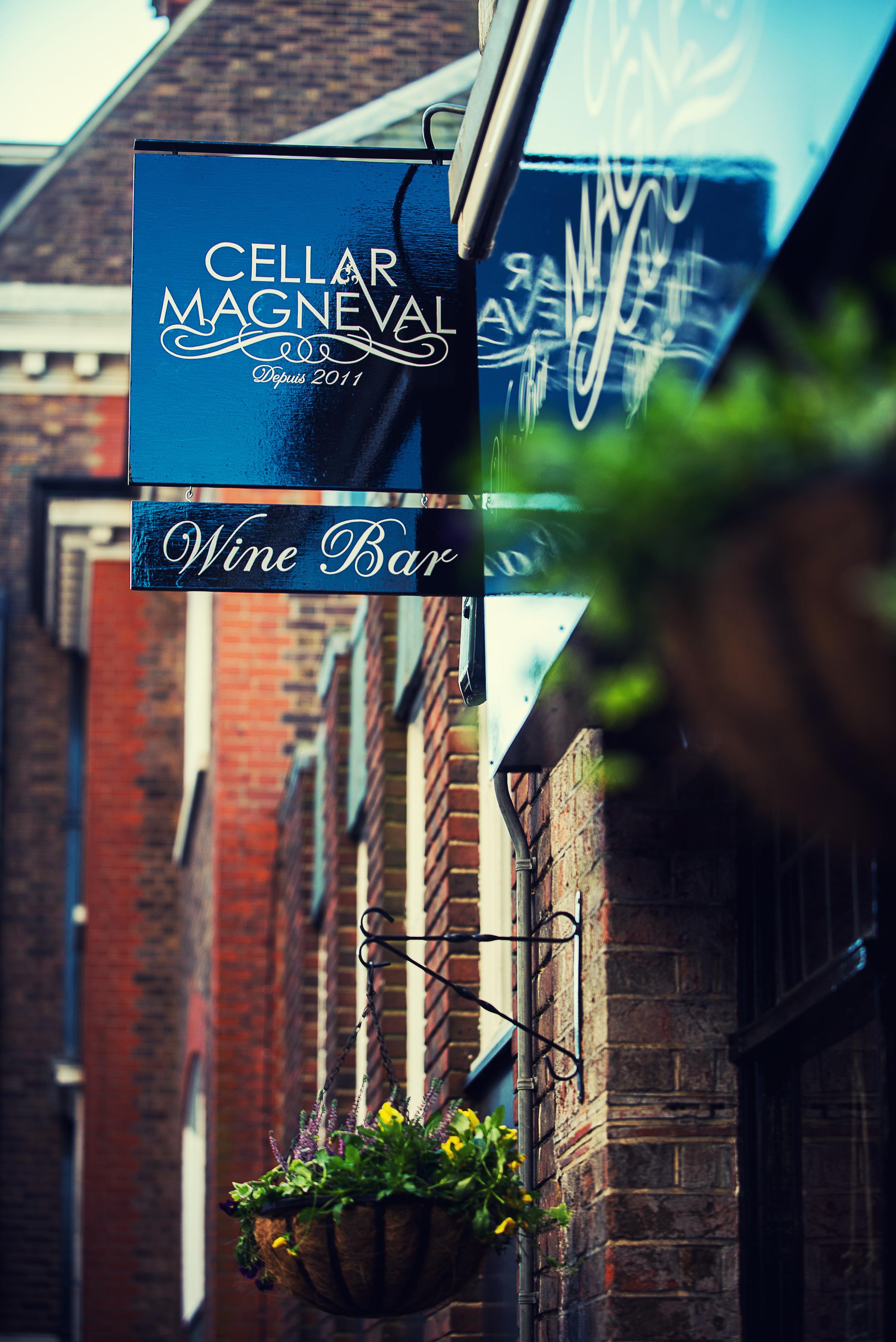 Cellar Magneval Sign