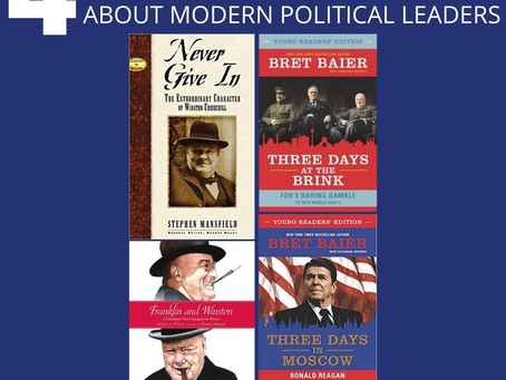 4 Living Books About Modern Political Leaders
