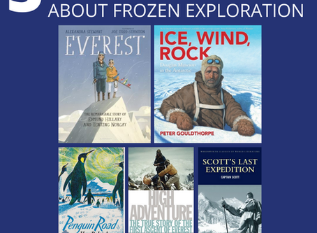 5 Living Books about Frozen Exploration