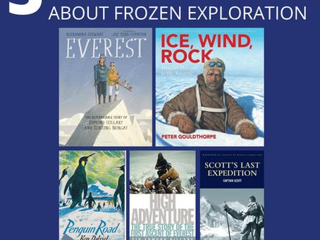 5 Living Books about Frozen Exploration