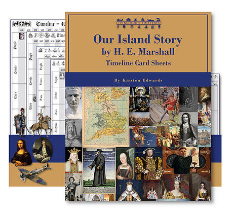 Our Island Story Timeline Cards and Poster Pack