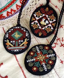 Three Ukrainian Eggs