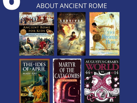 6 Living Books about Ancient Rome