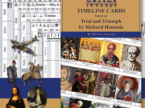 Trial and Triumph Timeline Card and Poster Pack