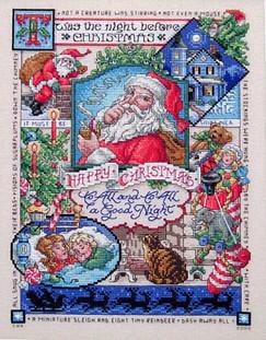 Night Before Christmas Scrapbook