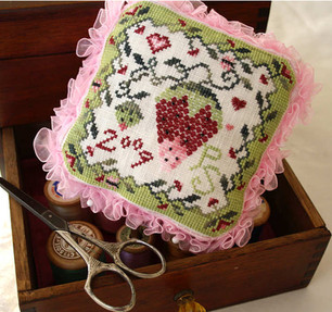 Strawberry Pin Pillow
