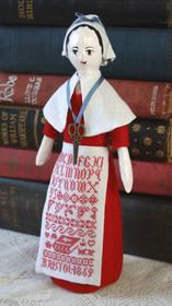 Charity Sampler Doll
