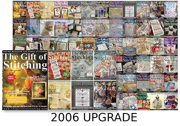 Upgrade from Christmas or 2006 Back Issue Bundles to All 72 Issues