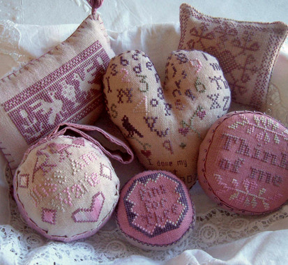 Set of Antique Pin Cushions