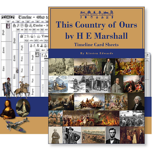 This Country of Ours Timeline Cards and Posters Pack