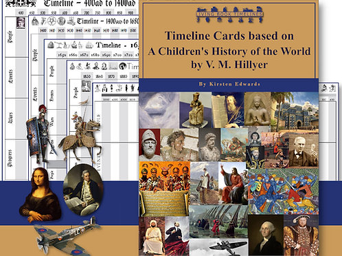 A Child's History of the World Timeline Card and Poster Pack