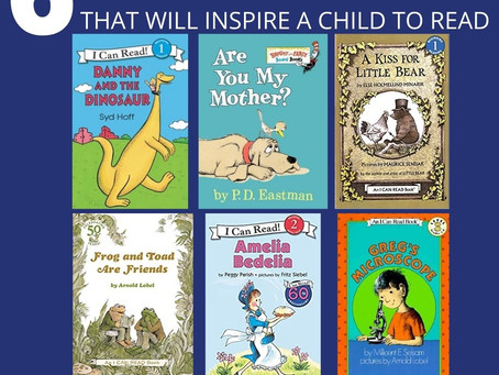 6 Easy Books that will Inspire a Child to Read