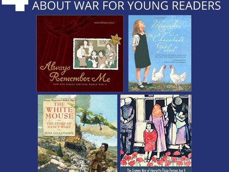 4 Living Books About War for Young Readers