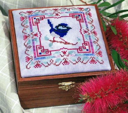 Fairy Wren Box Top