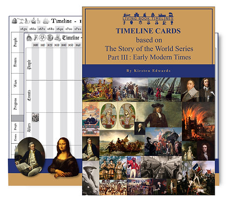 The Story of the World 3: Early Modern Times - Timeline Cards and Poster Pack