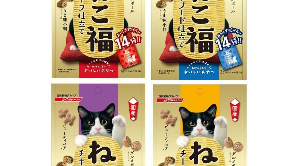 Nisshin Cat Crispy Cookies