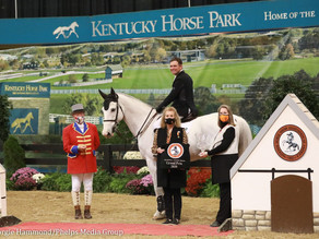 Devin Ryan and Eddie Blue Jump to Blue in $213,300 National Horse Show Grand Prix