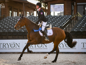 Caelinn Leahy and Dymendy Take Win on First Day of USEF Junior Jumper National Championships