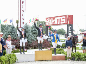 It's Gold for Goldman-Smolen at USHJA Zones 5 and 6 Platinum Jumper Championships
