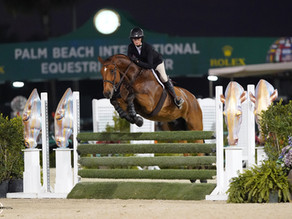 Natalie Jayne Shines in the WEF Equitation Championship 2021