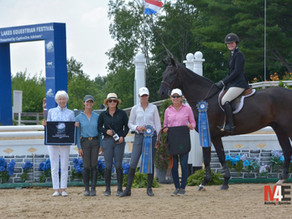 Dudley B. Smith Equitation Championship is Heartwarming Tribute to Community Philanthropist