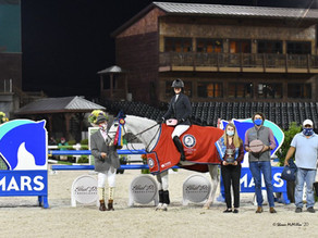 Children's and Adult Jumper Titles Awarded at WIHS