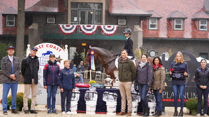 Natalie Jayne and Charisma Rise to Top of Platinum Performance/USEF Show Jumping Talent Search Final