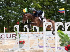 Michael Burnett Earns a Spot on the Podium at the Columbus International I
