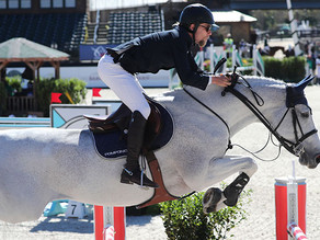 Karl Cook and Caillou 24 Master $137,000 MD Barnmaster Grand Prix CSI 3*