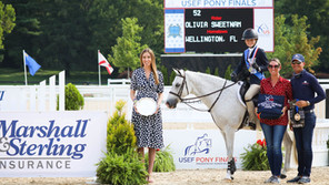 OLIVIA SWEETNAM TRIUMPHS IN THE 2021 MARSHALL & STERLING USEF PONY MEDAL