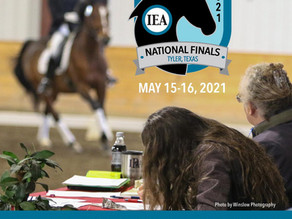 First IEA Dressage National Finals to be Held in Tyler, Texas
