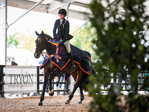 Taylor Griffiths-Madden Wins Gold in 2020 Dover Saddlery/USEF Hunter Seat Medal Championship