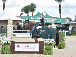 Brian Moggre Races Nikita Jolie to $12,000 1.45m Speed CSI3* Triumph