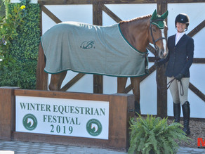 Caelinn Leahy Receives Series Award at Winter Equestrian Festival