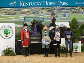 "Caroline Tinsley Wins 2020 Hamel Foundation National Horse Show 3'3"" Equitation Championship"
