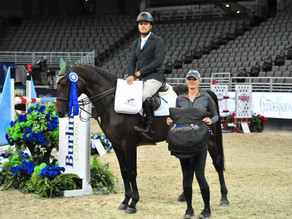 "Steve Schaefer Wins $7,500 Open 1.40m ""Wild Card"" Welcome Stake at 2019  International Omaha"