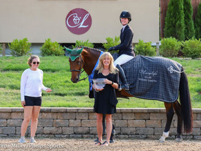 Bellis Show Jumping's Caelinn Leahy and Dymendy Win $25,000 Welcome at Equifest I