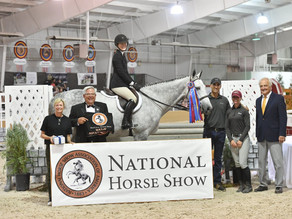Riders Head to the ASPCA Maclay Championships After Competition at The St. Louis National Charity