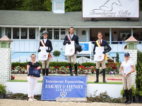 Brandywine Showcases Equitation Riders