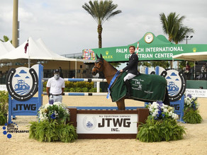 Darragh Kenny Pilots Belo Horizonte to Victory in $37,000JTWG, Inc. 1.45m CSI4*