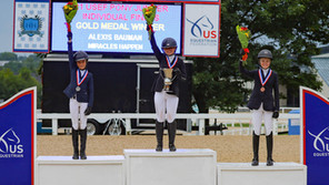 ALEXIS BAUMAN AND MIRACLES HAPPEN CLAIM GOLD