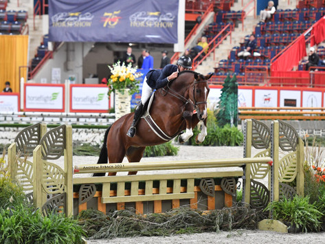 Hunt Tosh and Cannon Creek are Grand at Pennsylvania National Horse Show