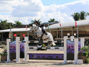 Laura Kraut and Confu Come Out on Top in $214,000 Holiday II Grand Prix CSI4*