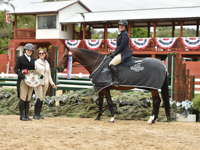 Kathleen Caya Dominates Bull Run Equestrian Center's Derby Challenge Series