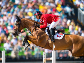 Canada's Eric Lamaze Withdraws from Olympic Consideration