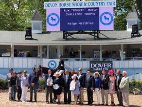 Northern Pines Farm Program Leads to Success at Prestigious Devon Horse Show