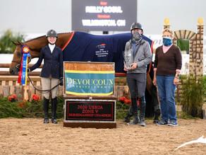 Reilly Gogul Wins the 2020 Zone 5 Horsemanship Class