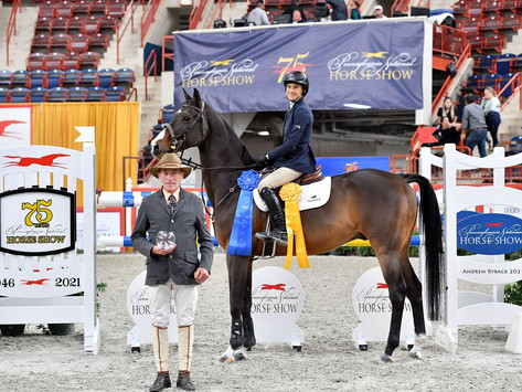 LAURA CHAPOT LEADS THE WAY AT 75TH-ANNUAL PENNSYLVANIA NATIONAL HORSE SHOW