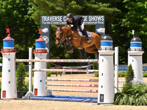 BACK-TO-BACK WINS FOR DANIEL BLUMAN AT TRAVERSE CITY SPRING HORSE SHOW