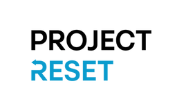 Project Reset logo.